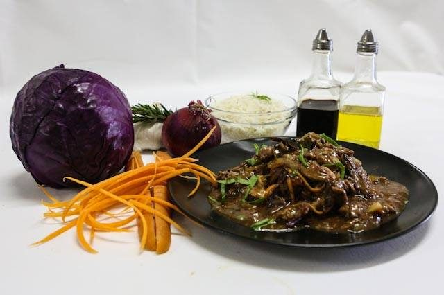 Mongolian Style Beef Stir Fry